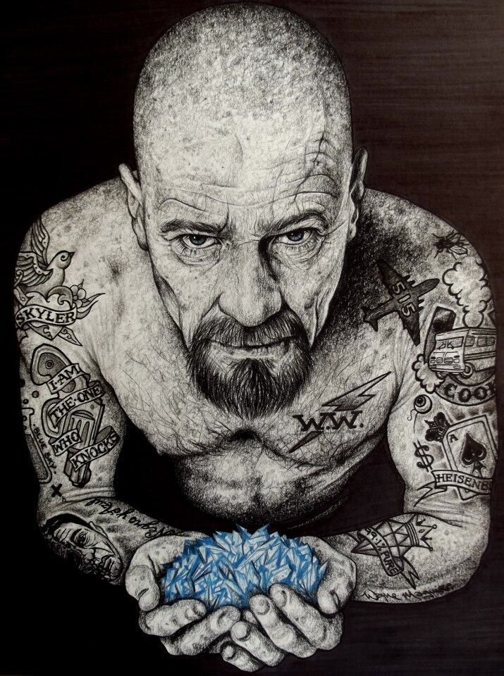 Walter White - Breaking Bad - Wayne Maguire #BreakingBad #BB