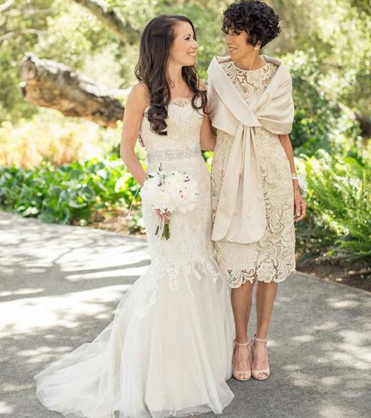 Wholesale Mother Of The Bride Dresses - Buy Vintage Tea-Length Lace Mother of Bridal Dresses Sheer Crew Neck Short Sleeve with Detachable Cape, $125.66 | DHgate