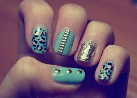 Mint and studs