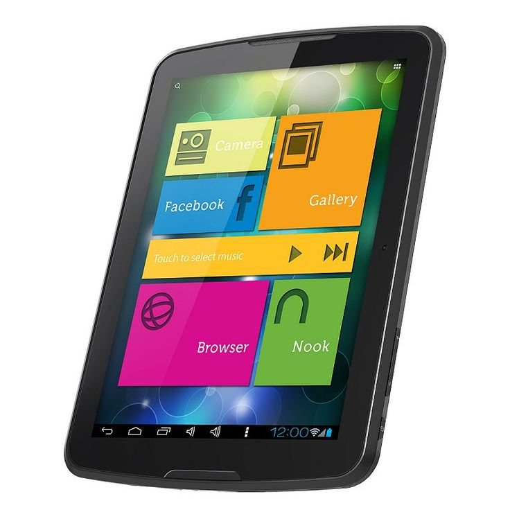 Polaroid S8 Google-Certified 8-in. Android Tablet, Multicolor
