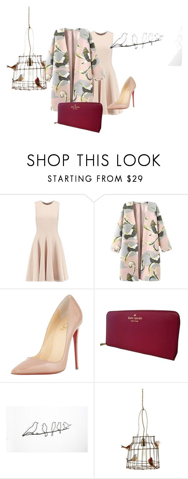 """""""Untitled #51"""" by amelaa-1 on Polyvore featuring Michael Kors, Christian Louboutin, Kate Spade and Amara"""