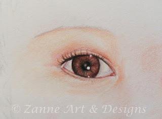 through a child's eye........  done in Caran d'ache watercolour pencils