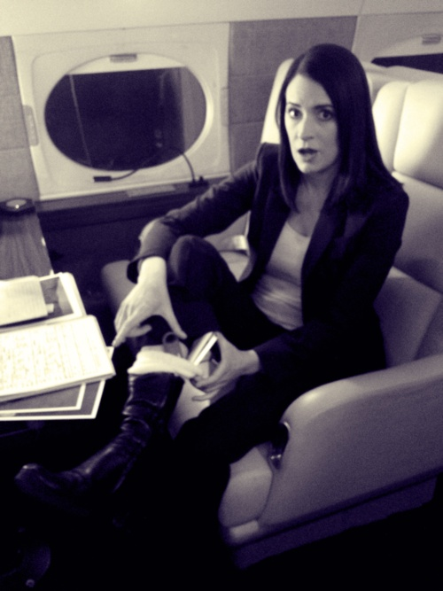 I have such a girl crush on Paget Brewster!