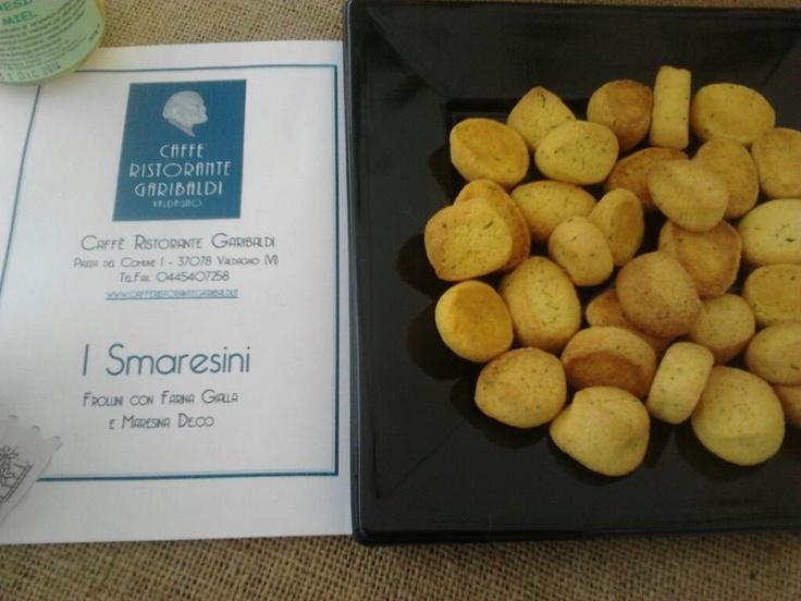 I Smaresini, ossia frollini con farina gialla e maresina deco