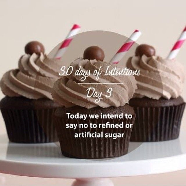 Day 3: 30 days of intentions. Today we intend to say no to refined and artificial sugar #health #wellness #dailyintention #affirmation #stralastyle