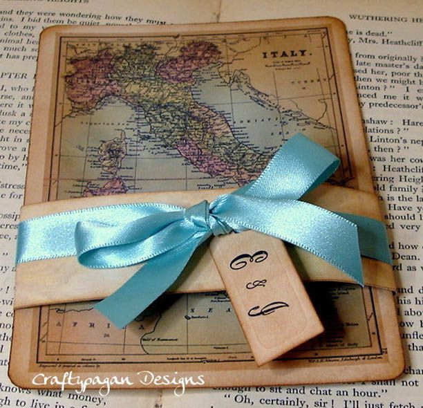 100 best wedding images on pinterest travel theme weddings vintage map wedding invitations perfect for destination weddings no ribbon though solutioingenieria Images