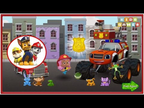 Nickelodeon Games to play online 2017 ♫ Paw Patrol Games Firefighter Res...