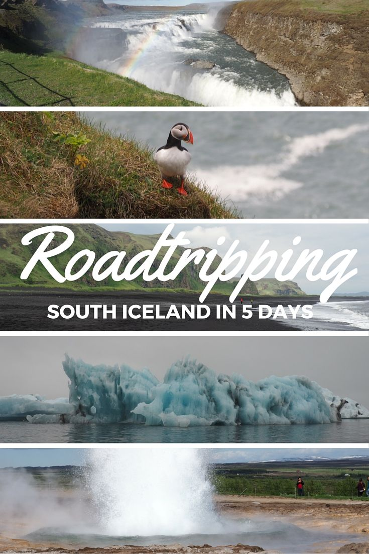 There is so much to see and do in Iceland but if you just have a week or less, you'll want to stick to the South Coast. This day-by-day itinerary walks you through where to stay, where to eat, and what to see and do in a five-day Iceland road trip itinerary.