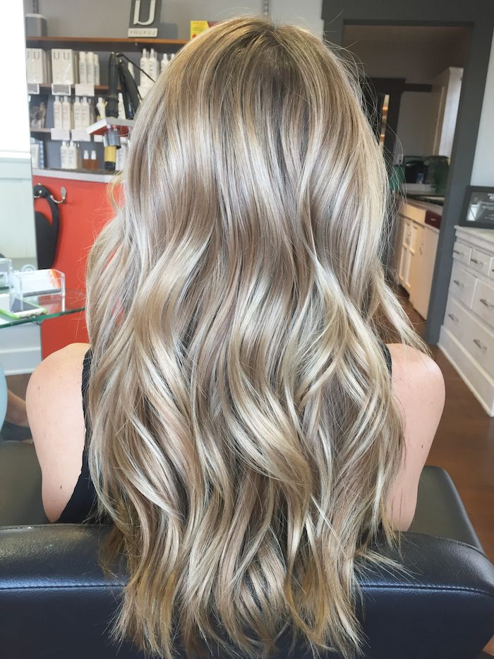 Best 25 Balayage Blond Sur Chatain Ideas On Pinterest