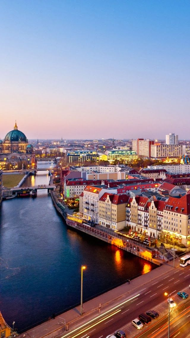Berlin Germany #Aerial #Bird's-eye