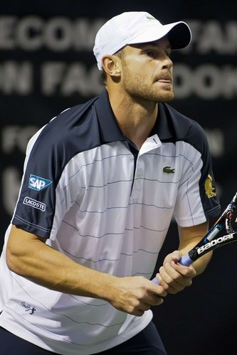 Andy Roddick - looks like my coach  #Vouroukos #les raquettes #Thessaloniki