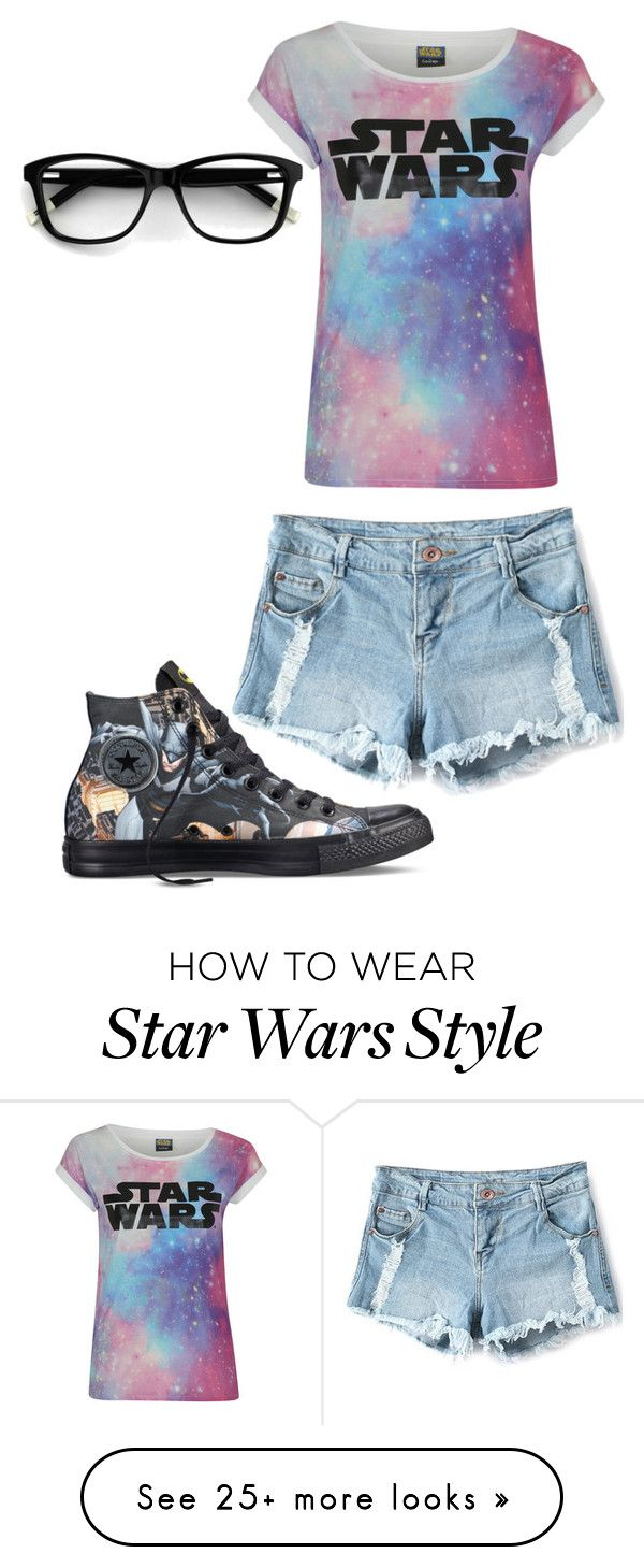"""Geek"" by summerloveforever335 on Polyvore featuring Converse"