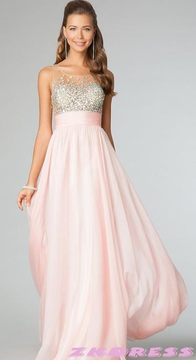 1000  ideas about Baby Pink Prom Dresses on Pinterest  Ball ...