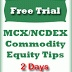 Free commodity market tips, gold silver live calls today and crude copper price updates 09 mar 13