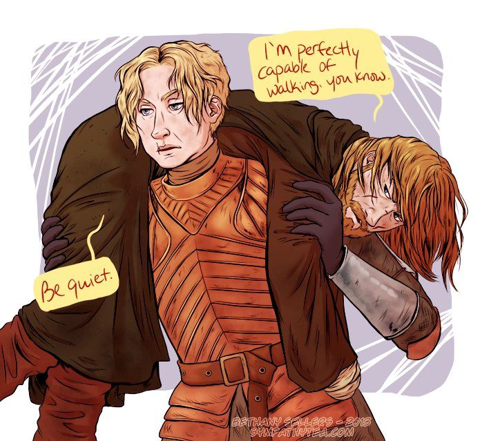 Brienne and Jaime fanart