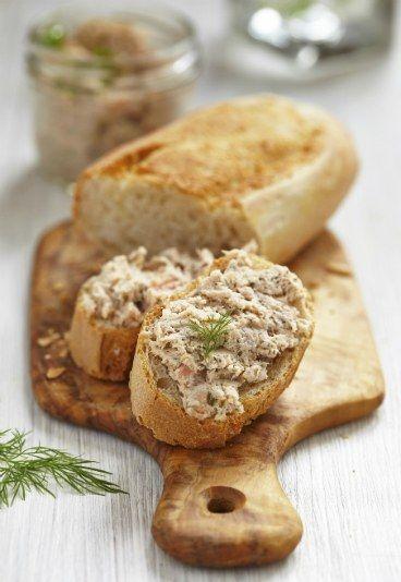 Patê de atum e patê de atum light - Como fazer patê? Receitas de patê e versões light deliciosas