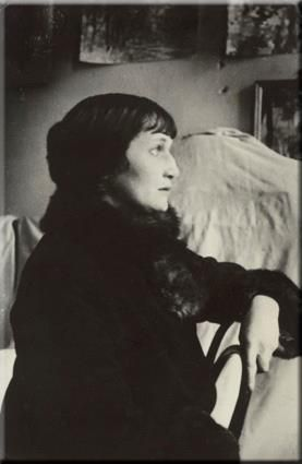 """Anna Akhmatova, of Russia:  """"I don't know of any country in which people love poetry more than ours."""""""