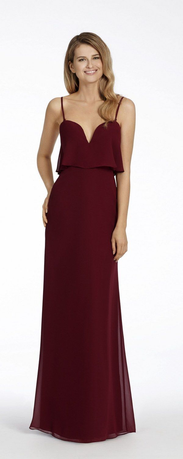 The 25 best burgundy bridesmaid dresses ideas on pinterest 55 burgundy bridesmaid dresses for fall winter weddings ombrellifo Image collections
