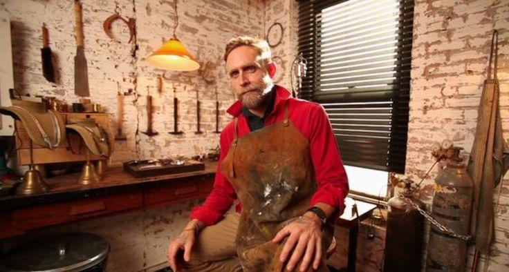 Every time I make a job I grow.Philip Crangi Visit Philip Crangi website Jewel…   – Instrumenti, fabrile et modus IV