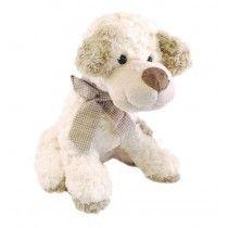 Feel is onze kleine startende waakhond. Met zijn zachte pluizige oortjes en schattige oogjes houdt hij alles goed in de gaten. Feel is lekker zacht om mee te knuffelen en is gemaakt van hoge kwaliteit pluche. Een trouwe vriend voor de kleintjes.