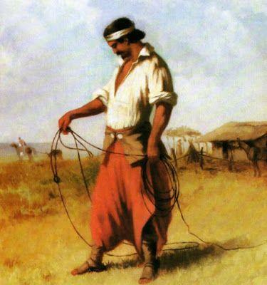 Diário de um Gaúcho Grosso: O LAÇADOR