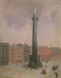 Nelson's Pillar and G.P.O., Dublin, 1931–1931