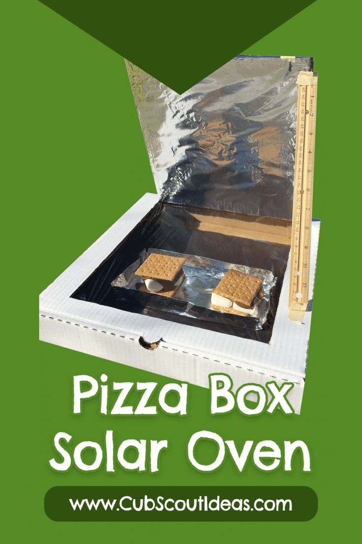 how to make a pizza box oven