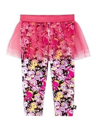 tokidoki Bambino Unicorno Leggings with Tulle Mesh Skirt