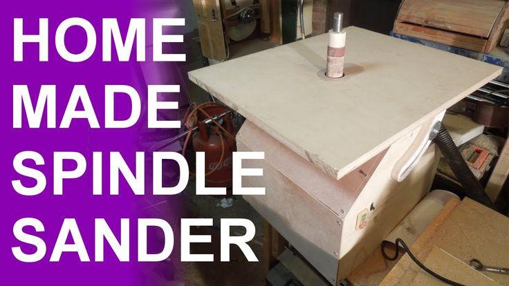 Homemade oscillating spindle sander.