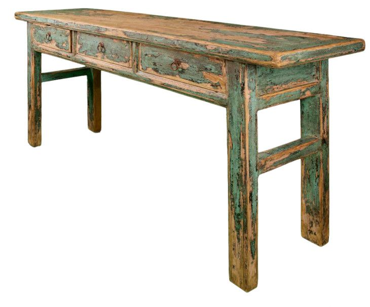 Furniture Reclaimed Wood Three Drawer Table The Best Tables Design - pictures, photos, images