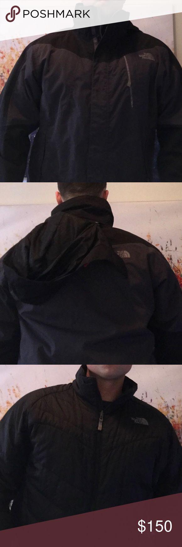 North Face Men's Ski jacket - shell and filler Men's ski jacket - has the detachable inner filler and shell North Face Jackets & Coats Ski & Snowboard