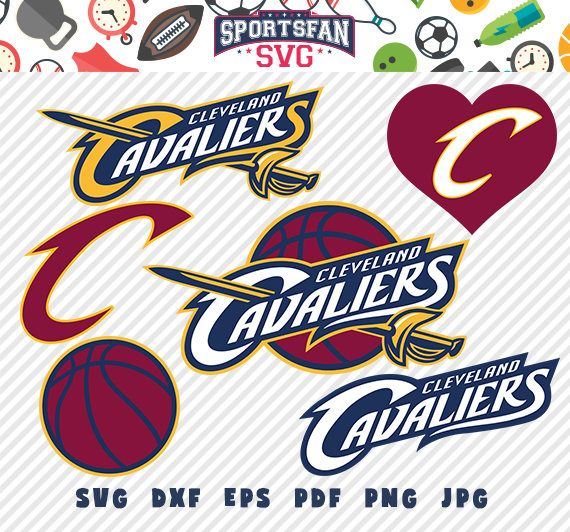 #ClevelandCavaliers #Cleveland #Cavaliers #logo #svg pack- #basketballteam #team, #NBA #basketballleague #league, #basketballsvg #cutfiles #vector #clipart #digitaldownload #png, #jpg, #eps, #dxf by #SportsFanSVG on #Etsy