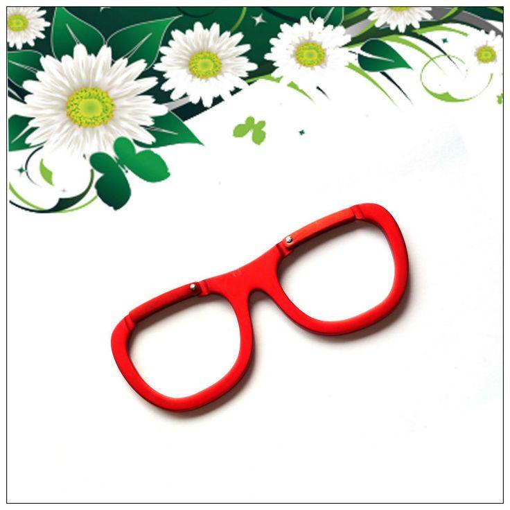 Glasses Shaped Mini Carabiner Hook