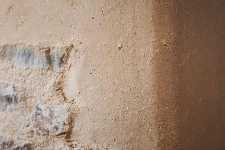 détail enduit terre Projets de lu0027atelier alp Pinterest More - peinture pour plafond fissure