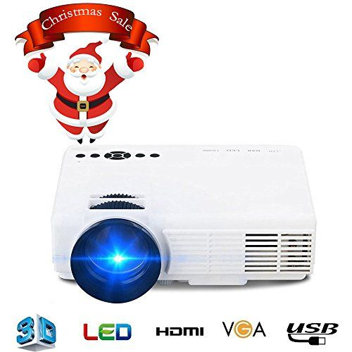 in the picture:Projector, 1500 Lumens Portable Pojector with HDMI Thread Multimedia Home Theater Video Projector Support 1080P Movies and Video Games, Connect Smartphone ipad with MHL thread lots of color options – get more info:https://www.amazon.com/dp/B075Q4T852    The Projector, 1500 L...