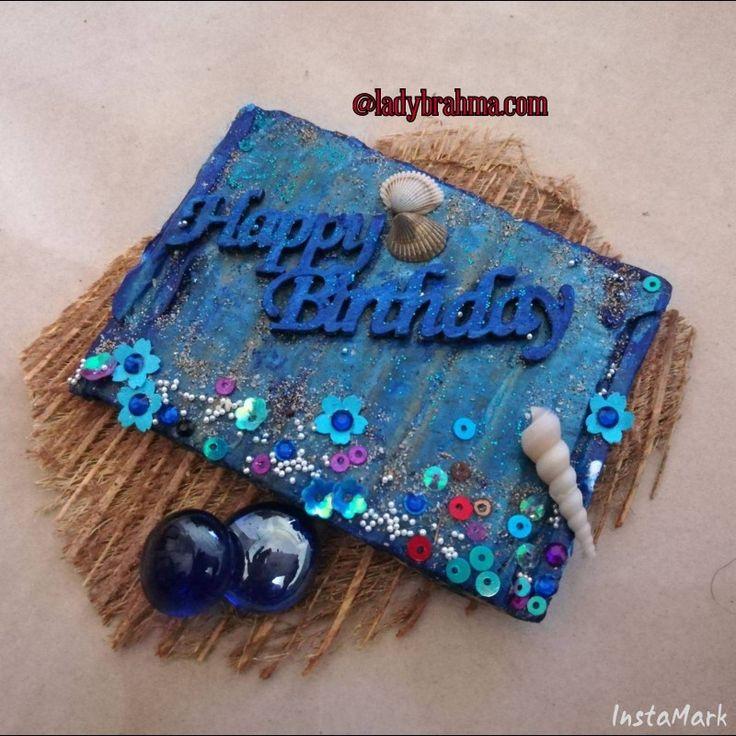 Mixed media - Happy Birthday