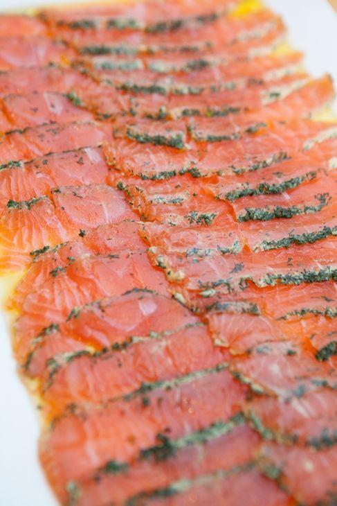 Our Salmon Gravlax #Donovans