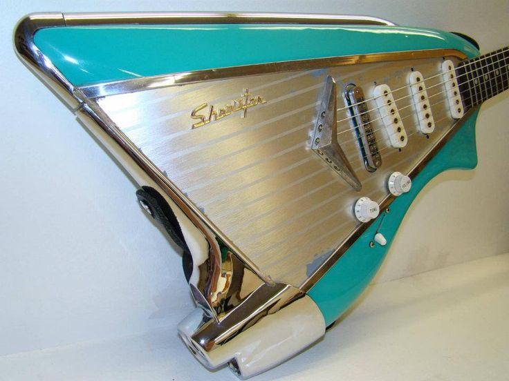 Vintage Car Bass guitar