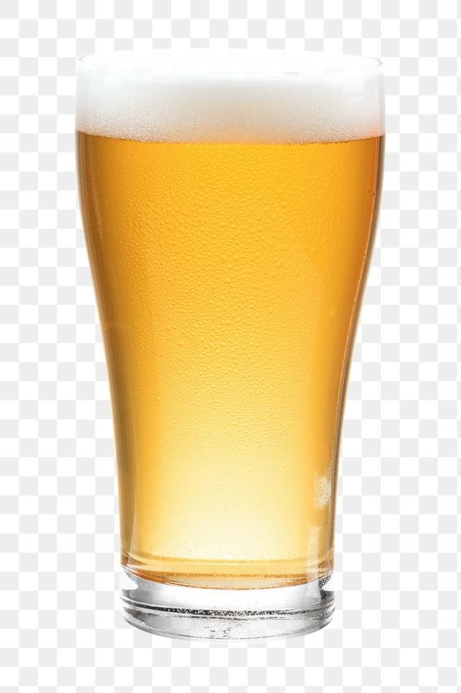 Beer With Froth Png In A Glass Mockup Free Image By Rawpixel Com Kanate Alcoholic Drinks Beer Glass