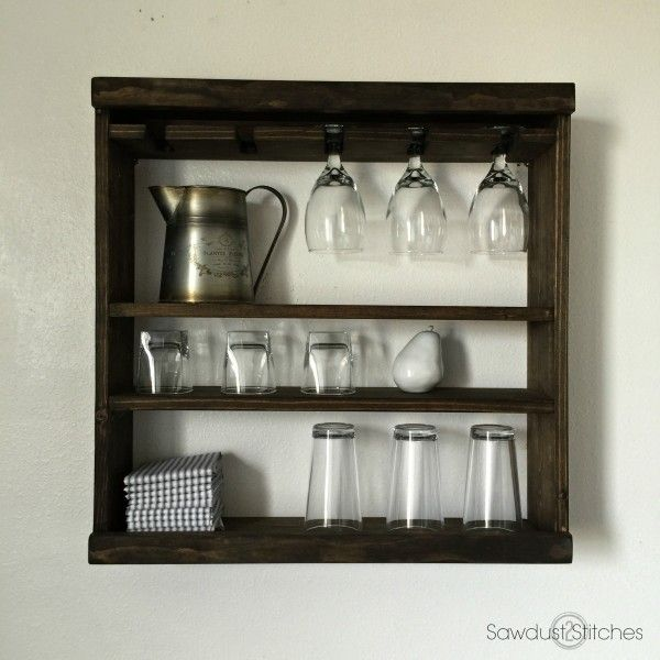 Pottery Barn Inspired Cubby Shelf (Modular) - Sawdust 2 Stitches
