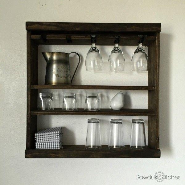 Pottery Barn Inspired Cubby Shelf (Modular) - Sawdust 2 Stitches