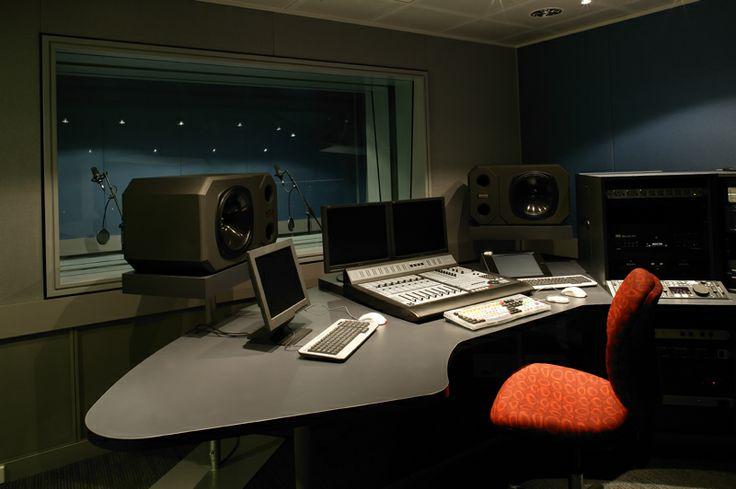 Nova Radio studio design by Graham Nicholas
