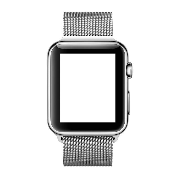 Apple Watch - 42 mm Edelstahlgehäuse mit Milanaise Armband - Apple (DE)