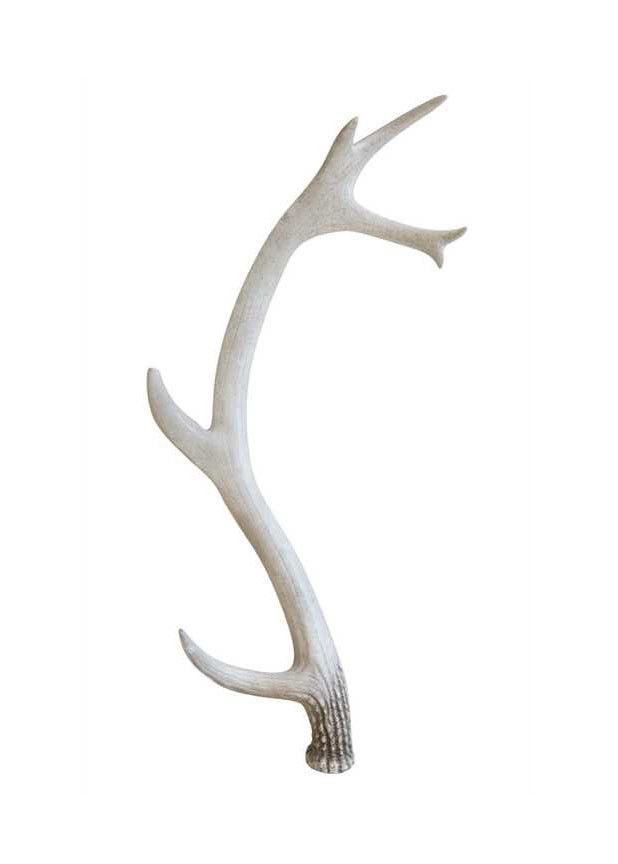 "Resin Antler Decoration Rustic Wedding Decorations 28"" Long"