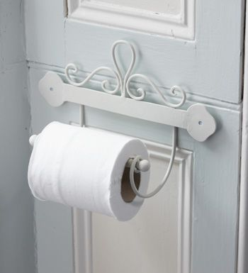 Ivory Wall Roll Holder