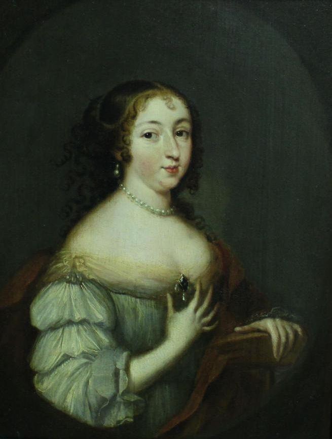 Portrait de Madame la marquise de Sévigné (1626-1696) Caspar Netscher