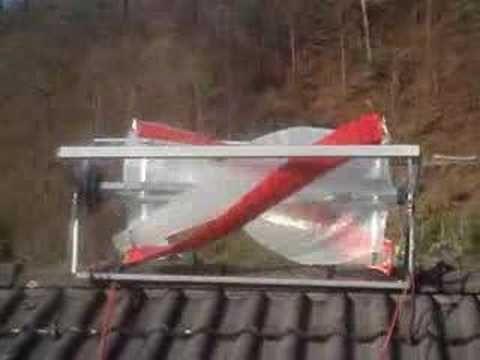 Windrad fürs Hausdach: Tüftler entwickeln geräuscharme Windgeneratoren - YouTube