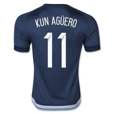 Argentina 2016 Sergio Aguero 11 Udebanetrøje Kortærmet.  http://www.fodboldsports.com/argentina-2016-sergio-aguero-11-udebanetroje-kortermet-1.  #fodboldtrøjer