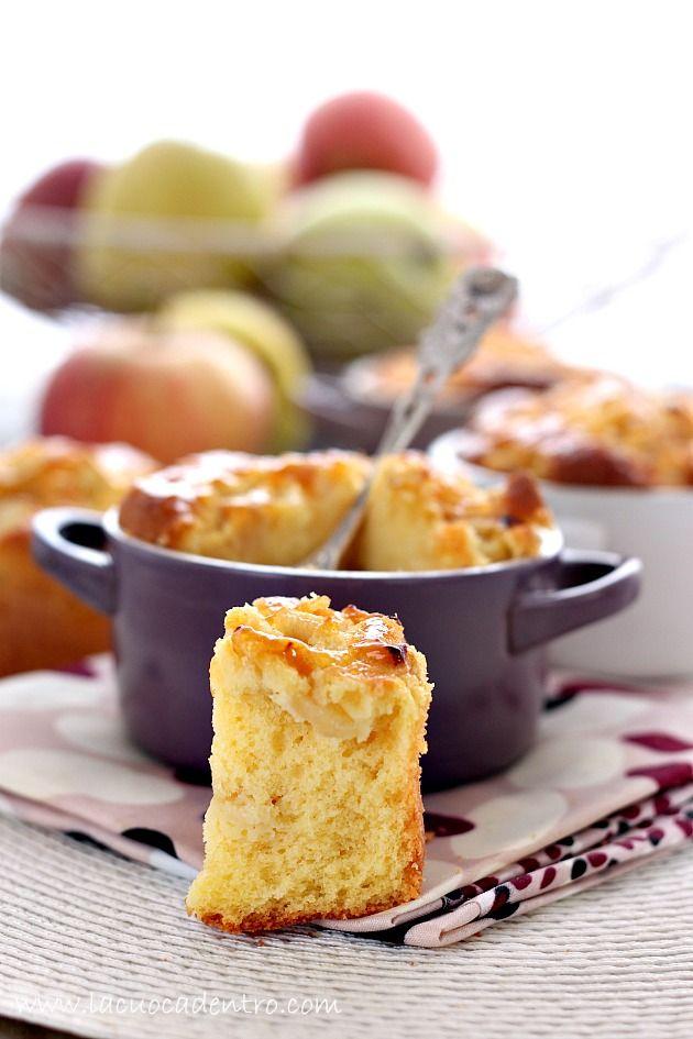 Tortina di mele montata