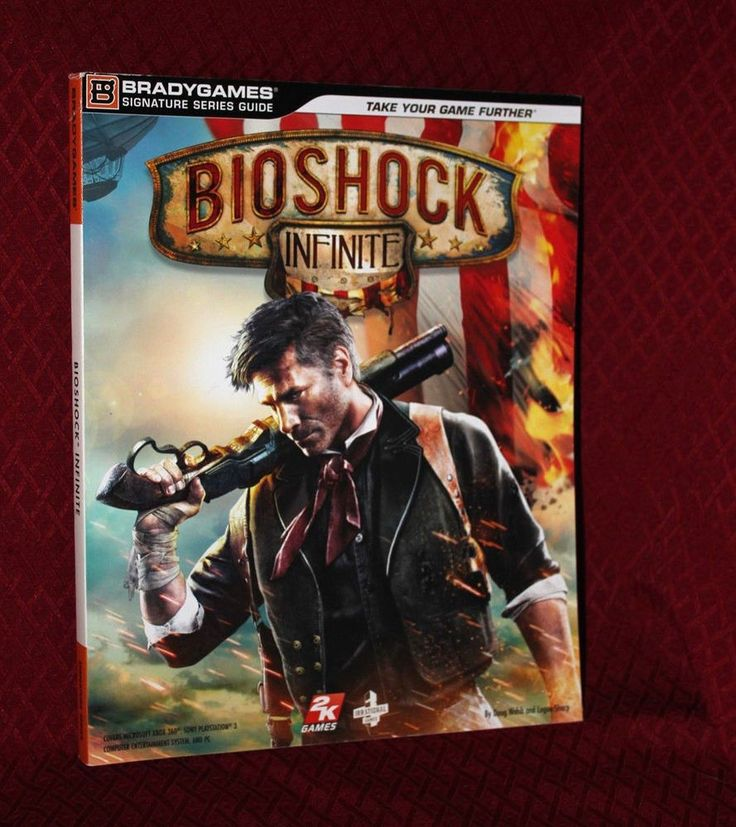 Bioshock Infinite Strategy Guide Hint Book Bradygames 2k Games PS3 Xbox 360 PC